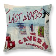 Carpe Diem My Friends Throw Pillow by Sarah Vernon