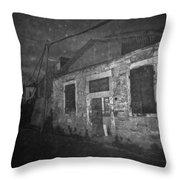 Carpenter Shop Throw Pillow by Taylan Soyturk