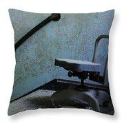 Catatonic Throw Pillow by Luke Moore