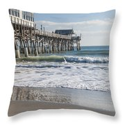 Catch Of The Day Throw Pillow by Brian Harig