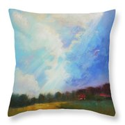 Catch The Light Throw Pillow by Celine  K Yong