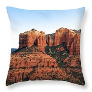 Cathedral Rock 2 Throw Pillow by Ellen Henneke