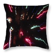 Celebration Throw Pillow by Terry Weaver