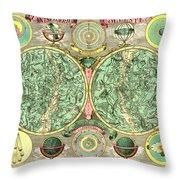 Celestial Map Throw Pillow by Gary Grayson