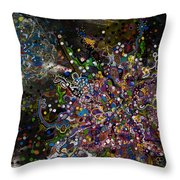 Cell No.6 Throw Pillow by Angela Canada-Hopkins