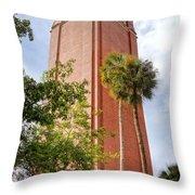 Century Tower Throw Pillow by Joan Carroll