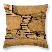 Chaco Bricks Throw Pillow by Steven Ralser