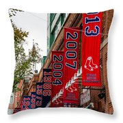 Champs Again Throw Pillow by Mike Ste Marie