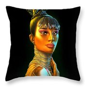 Chantel Throw Pillow by Andrew Farley