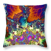 Chaos Of Unrealized Ideas Throw Pillow by Elizabeth McTaggart