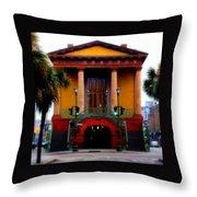 Charleston Throw Pillow by Karen Wiles