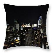 Charlotte Night Magic 2 Cnm2 P Throw Pillow by Jim Brage