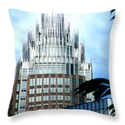 Charlottes Crown Throw Pillow by Randall Weidner