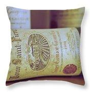 Chateau Tour Saint Pierre Throw Pillow by Georgia Fowler