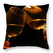 Cheers Throw Pillow by Patricia Hofmeester