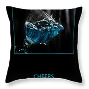 Cheers Throw Pillow by Randi Grace Nilsberg