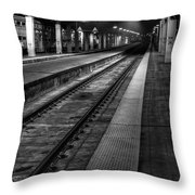Chicago Union Station Throw Pillow by Scott Norris