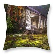 Childhood Dreams Throw Pillow by Debra and Dave Vanderlaan