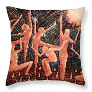 Children Of The Light Throw Pillow by Anthony Falbo
