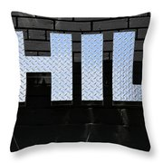 Chill Throw Pillow by Andrew Fare