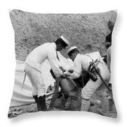 China: Boxer Rebellion, C1901 Throw Pillow by Granger