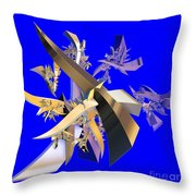 Chinese Puzzle Throw Pillow by Brian Raggatt