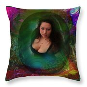 Christan I Throw Pillow by Otto Rapp