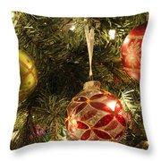 Christmas Cheer Throw Pillow by Luke Moore