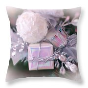Christmas Decoration Throw Pillow by Kathleen Struckle
