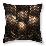 Chromium Throw Pillow by Kim Sy Ok