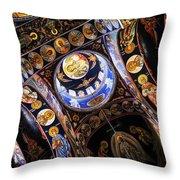 Church interior Throw Pillow by Elena Elisseeva