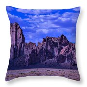 Church Rock Throw Pillow by Garry Gay