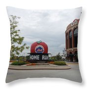 Citi Field Throw Pillow by Rob Hans
