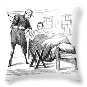 Civil War: Army Physician Throw Pillow by Granger