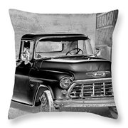 Classic Ride Throw Pillow by Betty LaRue