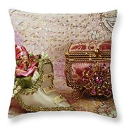 Classic Victorian Moments Throw Pillow by Inspired Nature Photography By Shelley Myke