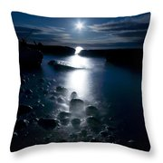 Clearville Moonrise Throw Pillow by Cale Best