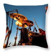 Cliff Miller and Dale Keeney - The Kingpins Throw Pillow by David Patterson
