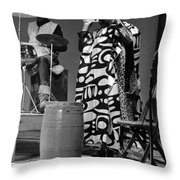Clifford Jarvis And Sonny 1968 Throw Pillow by Lee  Santa