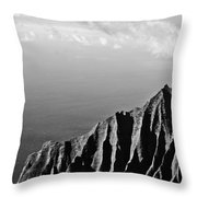 Cliffview Throw Pillow by Christi Kraft
