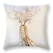 climb to the top Throw Pillow by Daniel Dubinsky