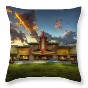 Cobb Theater Throw Pillow by Marvin Spates