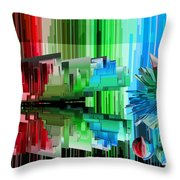 Cognitive Dissonance 3 Throw Pillow by Angelina Vick