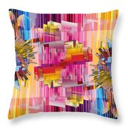 Cognitive Dissonance 4 Throw Pillow by Angelina Vick