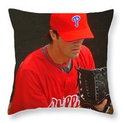 Cole Throw Pillow by David Rucker