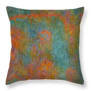 Color Abstraction Xii Throw Pillow by David Gordon