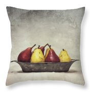 Color Does Not Matter Throw Pillow by Priska Wettstein