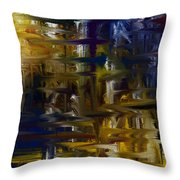 Color My World Throw Pillow by Judi Walters