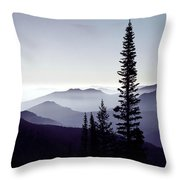 Colorado Haze Throw Pillow by Adam Romanowicz