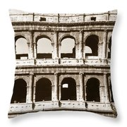 Colosseum Throw Pillow by Granger